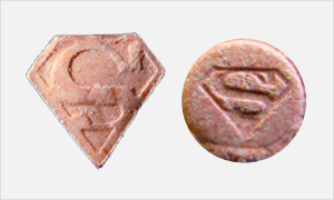 Superman ecstasy pills PMMA